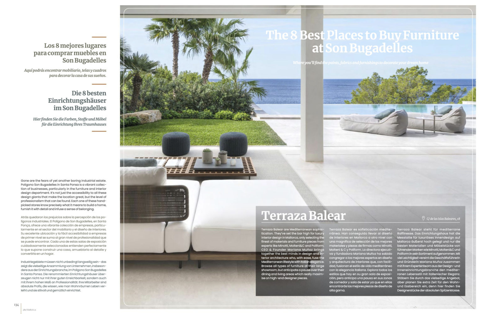 ABC Mallorca | Property special | Terraza Balear | Showroom