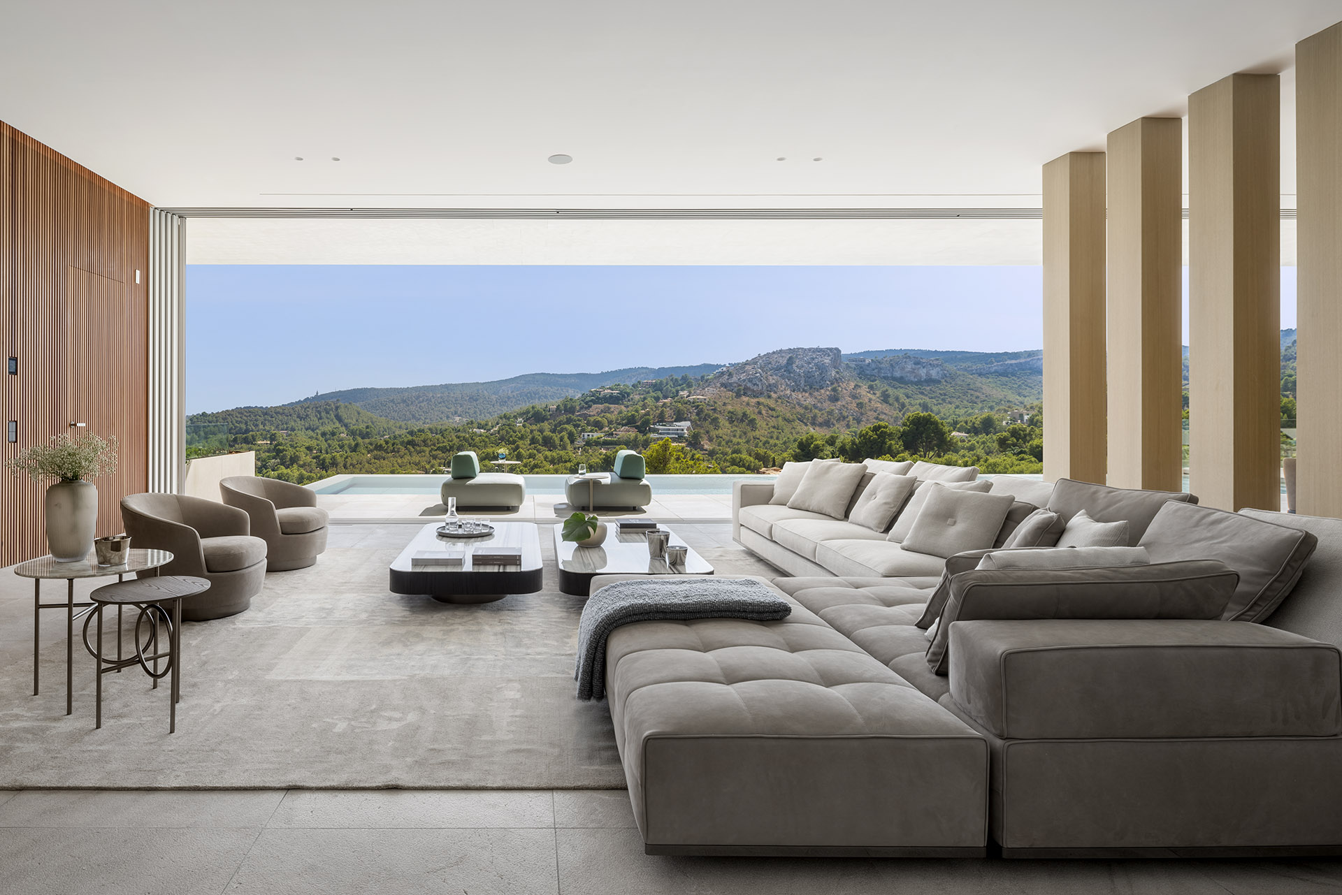 M16 Son Vida | Terraza Balear interior design project in Mallorca